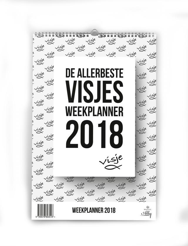 Allerbeste Visjes Weekplanner 2018